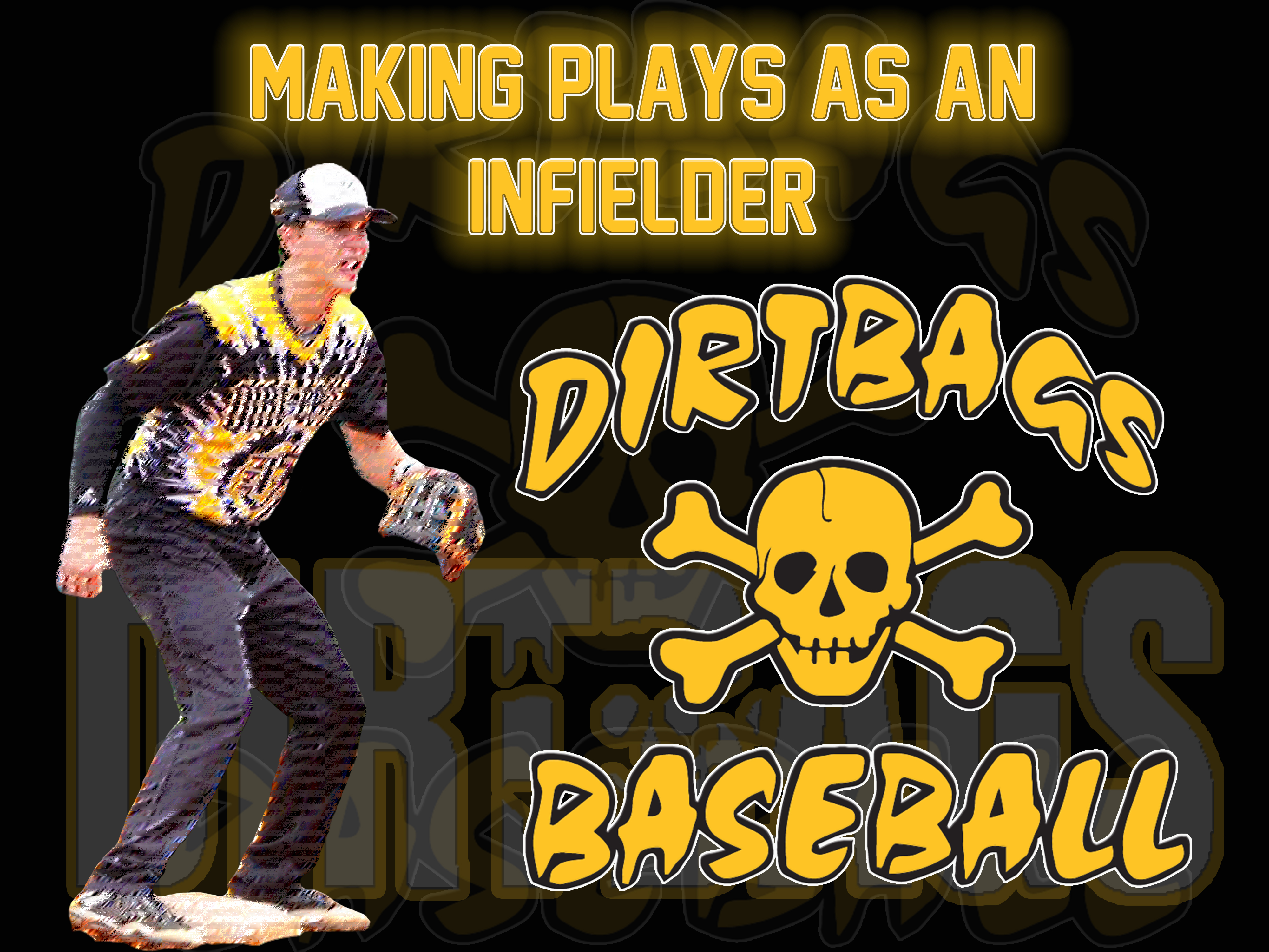 Making Plays As An Infielder