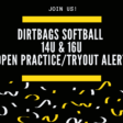 Dirtbag Softball Announces Open Practice/Tryout Dates