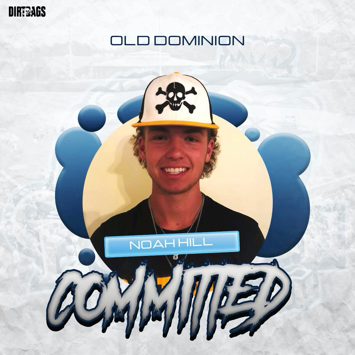 Noah Hill commits to Old Dominion University.